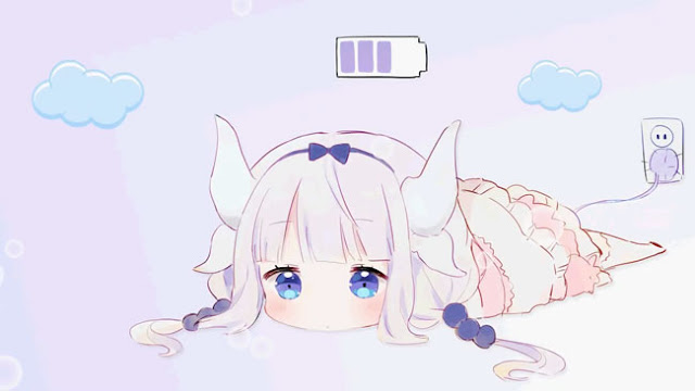 Kanna Charging Wallpaper Engine