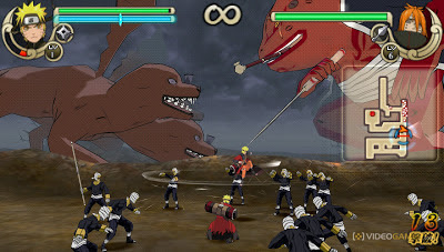 Naruto Ultimate Ninja Impact (iso psp)