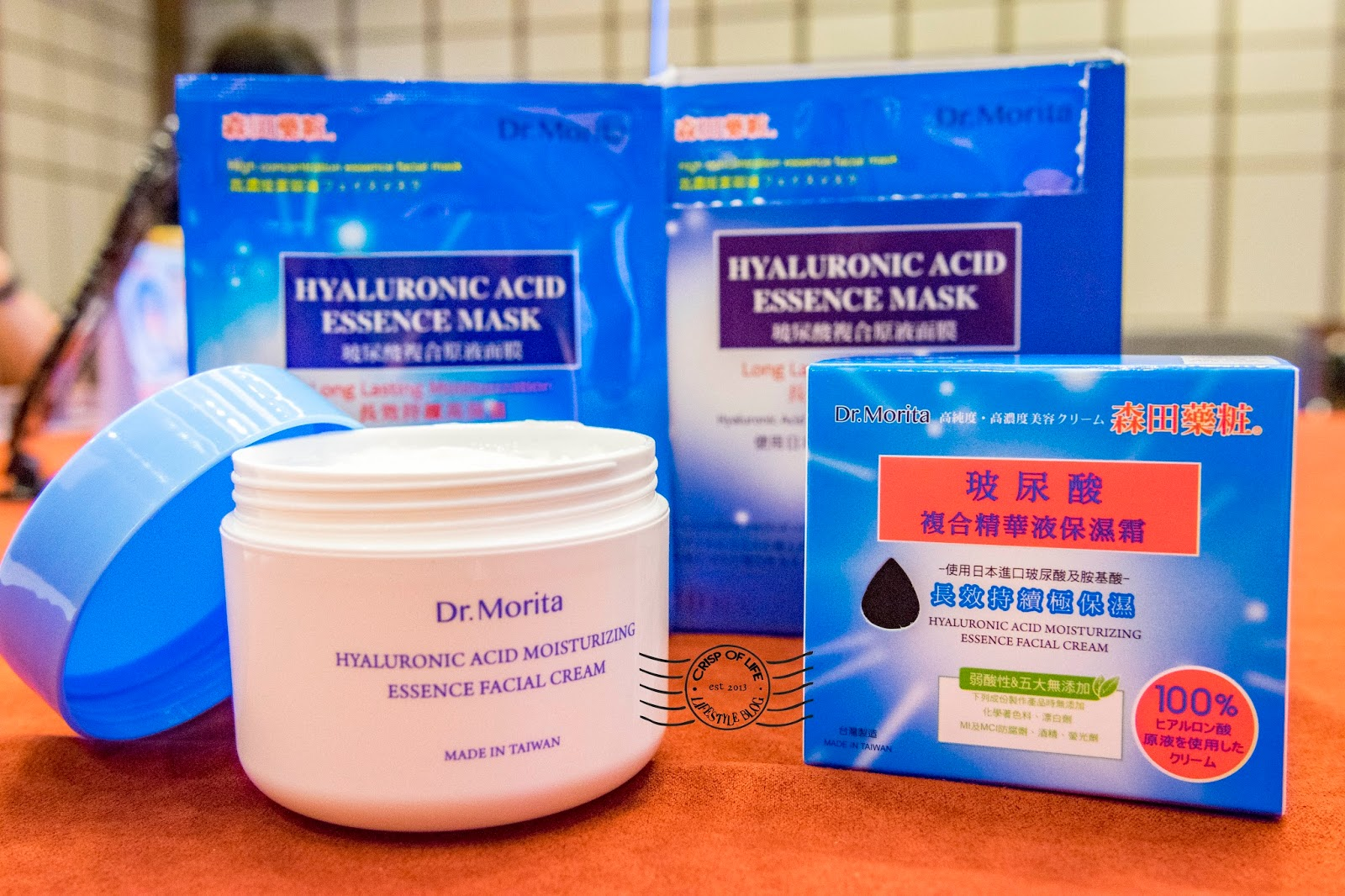 A Dr. Morita facial mask a day, keeps your ageing away