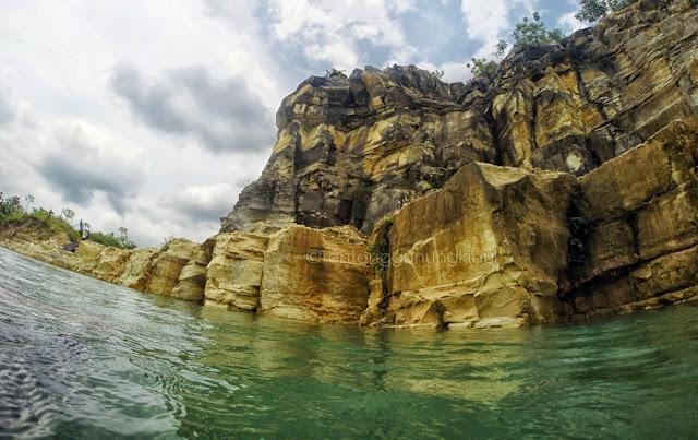 Telaga Biru Gunung Kidul Juga Bisa Untuk Berenang