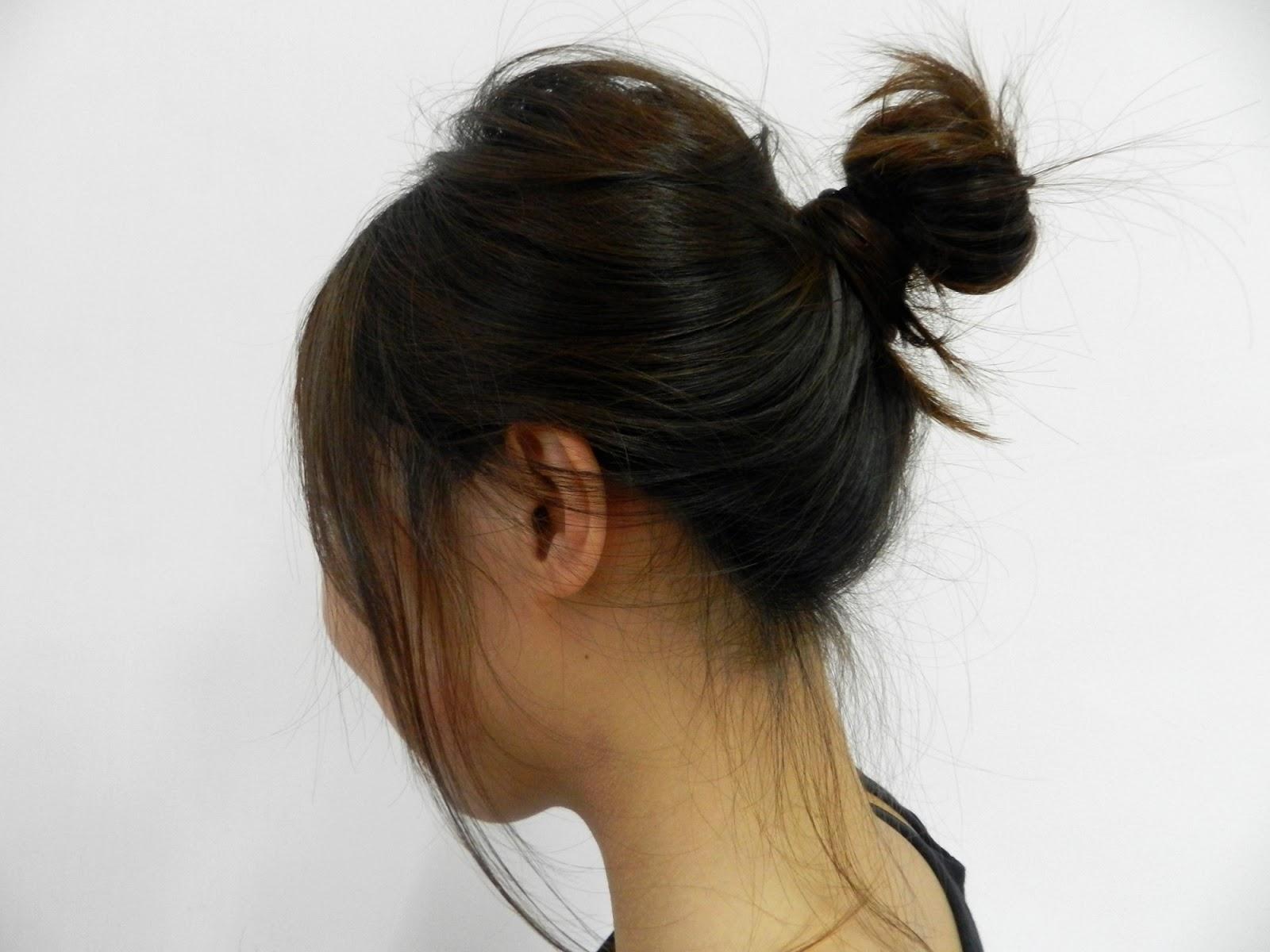 Xixi Ze Violinist Hair Tutorial Korean Bun