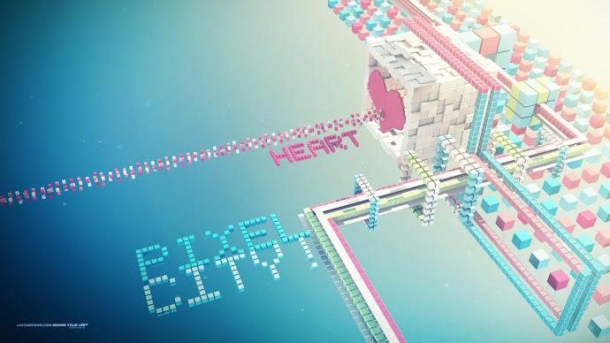 Wallpaper: The Pixel City