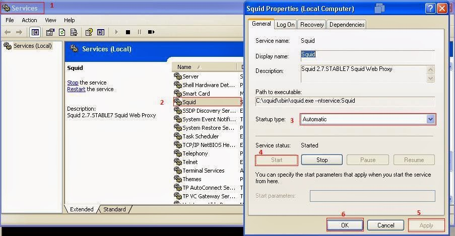 Basic IT Informations: How to Install and Configure Squid
