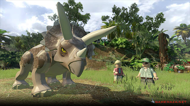Lego Jurassic World Gameplay Screenshot 2