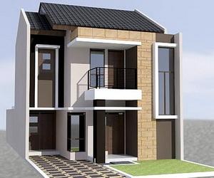 gambar rumah minimalis lantai 2 sederhana