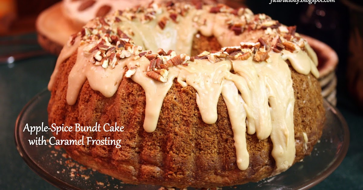 Bundt Spice Cake With Apple Pie Filling
