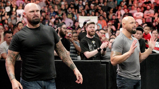 Luke Gallows et Karl Anderson ont effectué des débuts retentissants à Raw