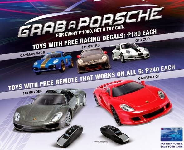 Updated Petron Offers Quot Grab A Porsche Quot Promo This
