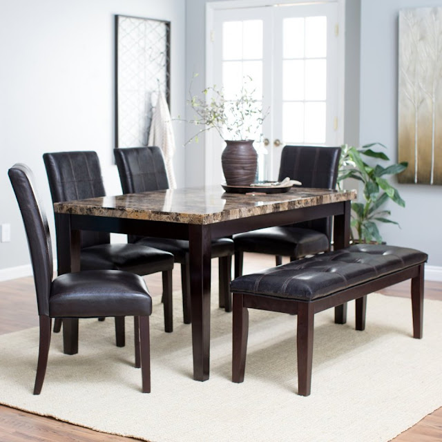 6 Piece Kitchen Table Sets