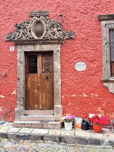Pertas del centro de San Miguel de Allende Guanajuato