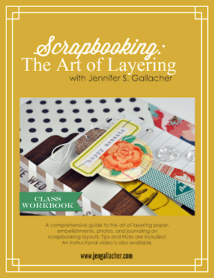 Scrapbooking: The Art of Layering. Download this #scrapbooking Ebook here: http://jen-gallacher.mybigcommerce.com/products.php?product=Scrapbooking%3A-The-Art-of-Layering-Ebook
