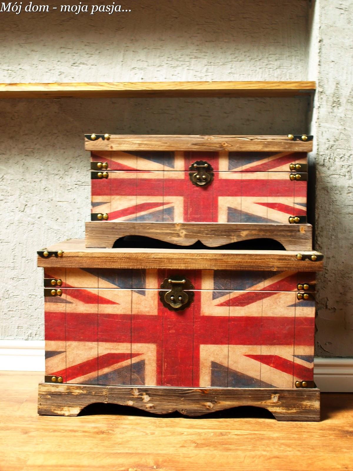 skrzynia, kufer, jack union
