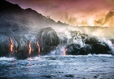 Gunung Api hawaii