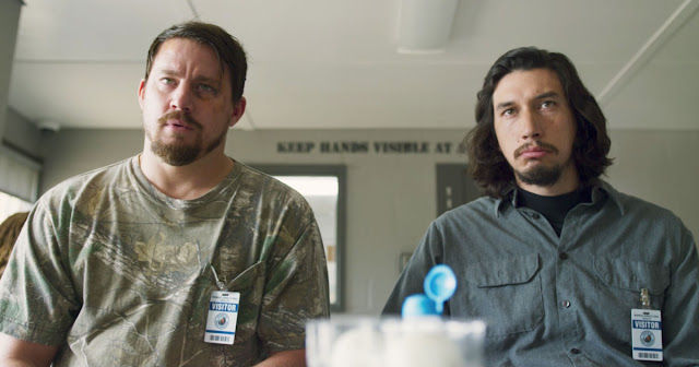 "Channing Tatum and Adam Driver plan a robbery in ""Logan Lucky"""