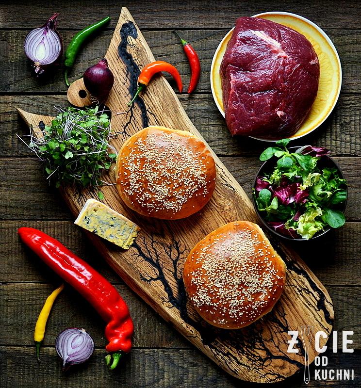 burger, wolowina, jakie mieso do burgerow, bulki do burgerow, meskia kuchnia, zycie od kuchni