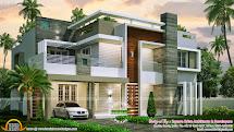 4 Bedroom Contemporary Home Design - Kerala