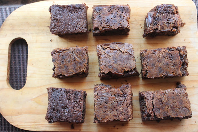 Nigella Lawson's Triple Chocolate Brownies Recipe