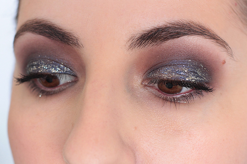 New Year's Eve Glitter Look