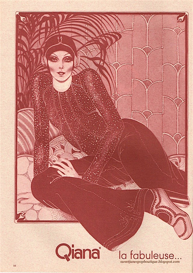Hélène Majera illustration 1970s