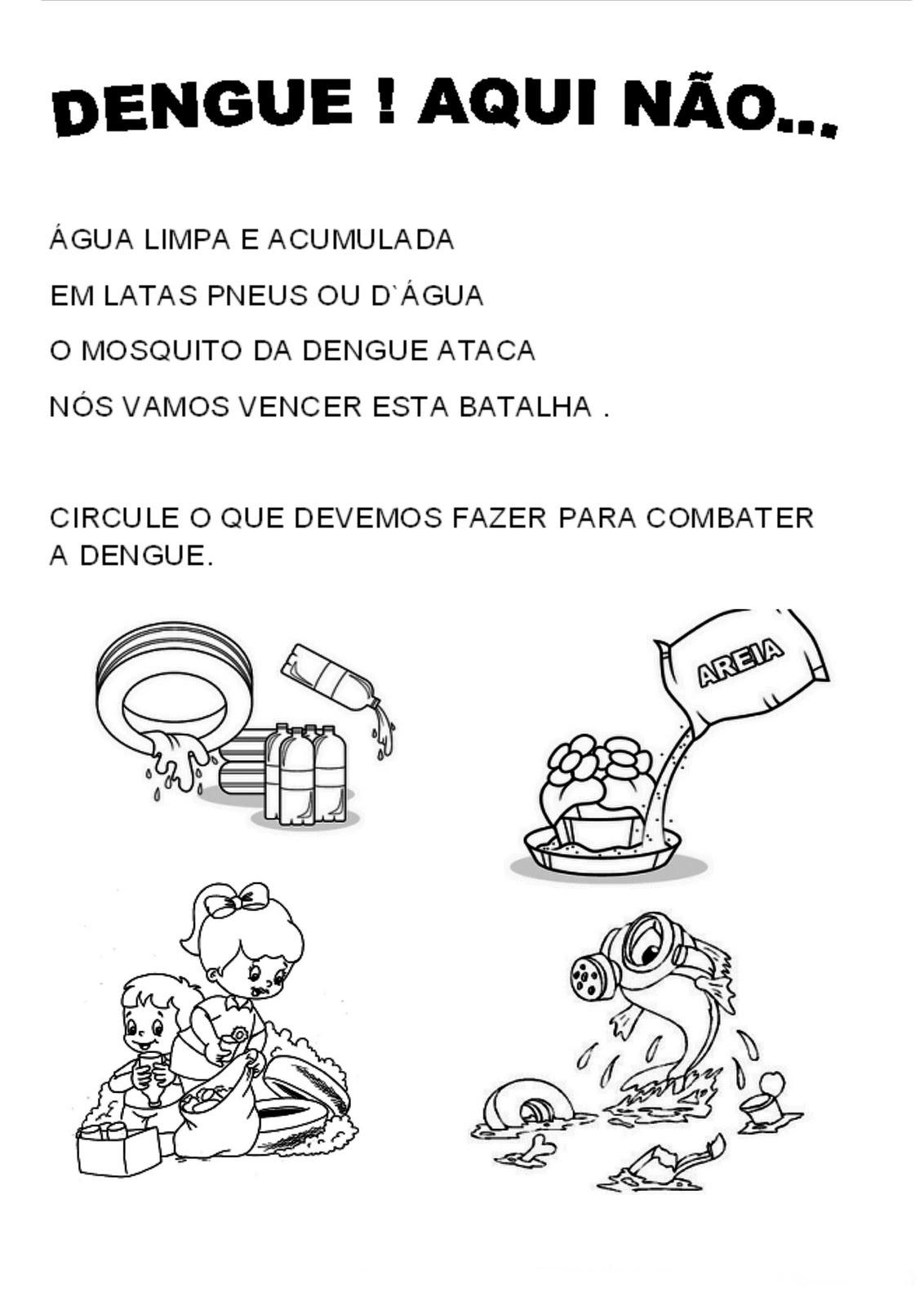 Extremamente Ensinando com Carinho: Atividades sobre a dengue RD04