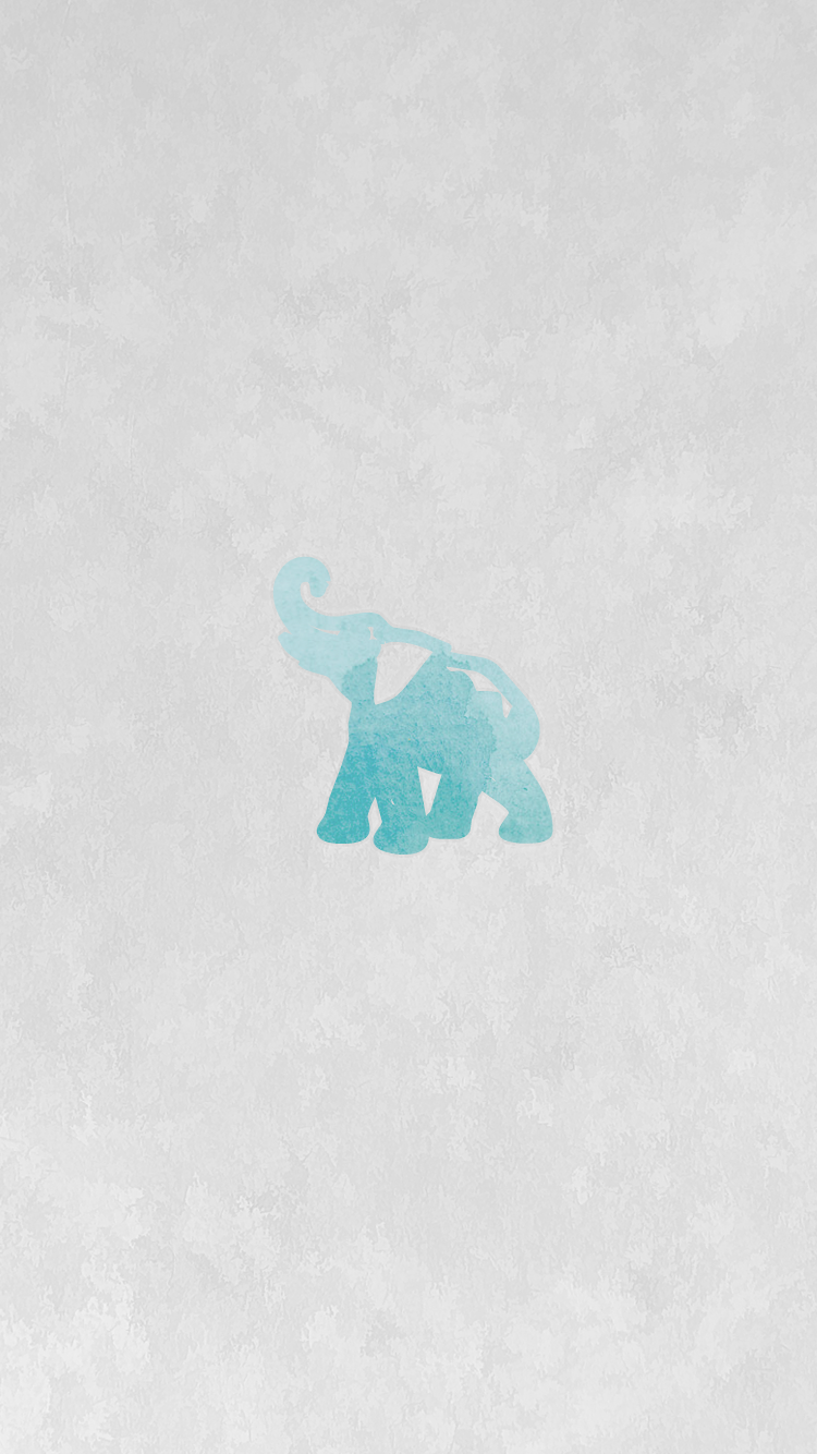 Be linspired iphone wallpaper backgrounds free download - Elephant background iphone ...