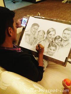 lukisan keluarga