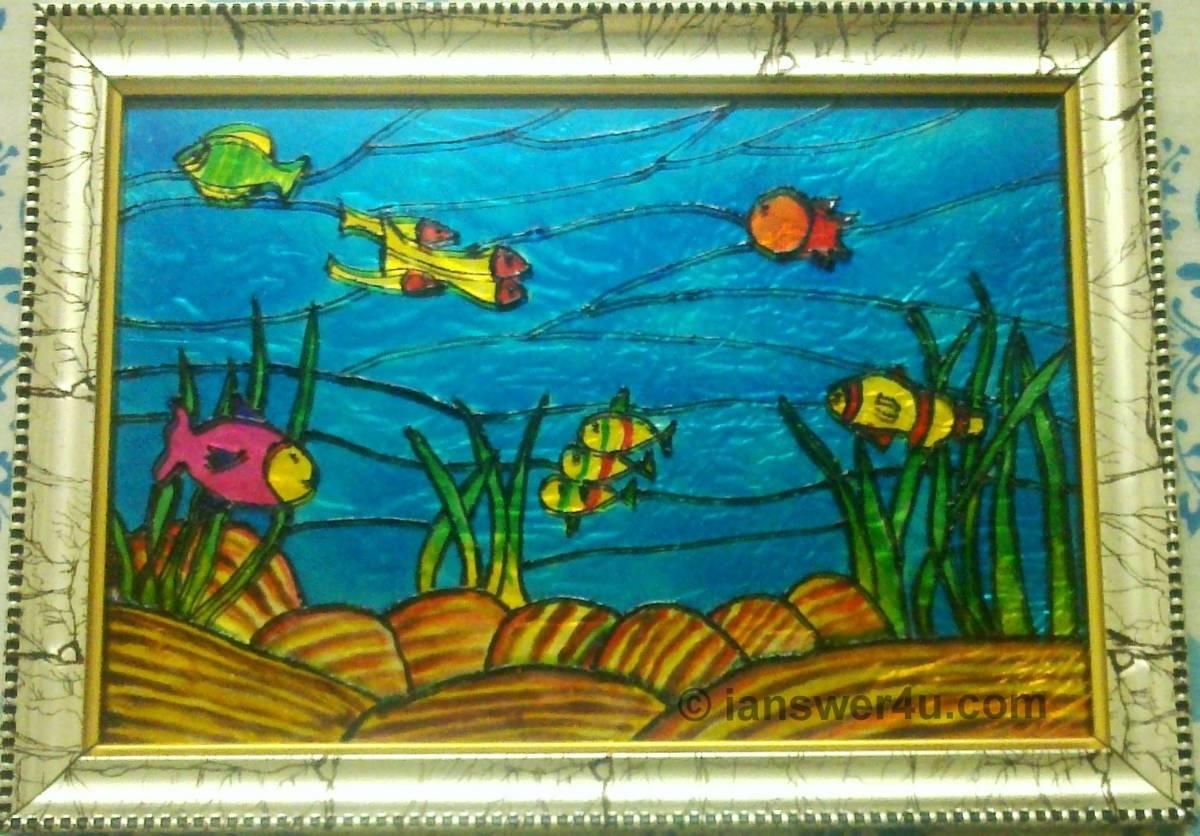 glass painting i answer 4 u