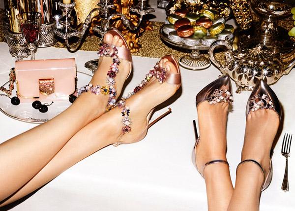zapatos y bolsos Jimmy Choo colección Crucero 2017