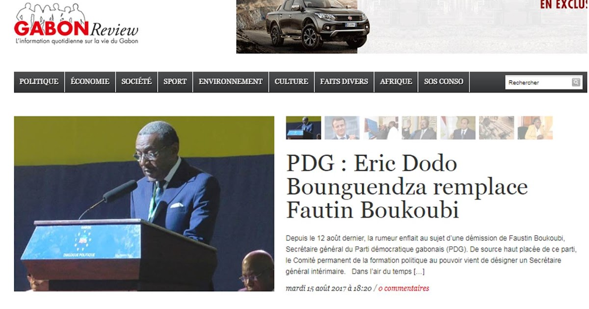 gabons political economy President ali bongo ondimba of gabon wrote off friday his political opponents  gabon's bongo says poll rivals have 'no chance' by  of the economy beyond oil.