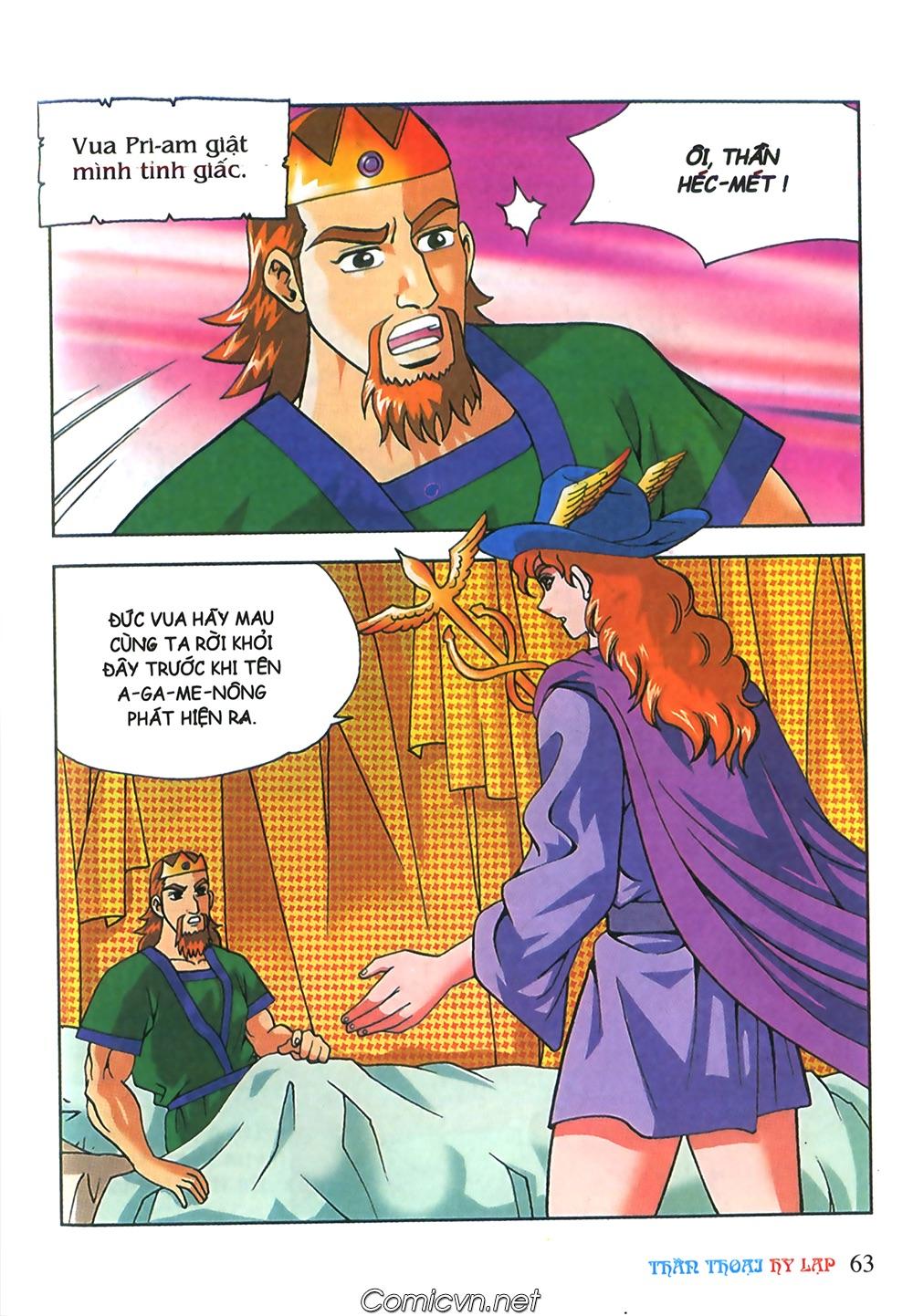 Thần Thoại Hy Lạp Màu - Chapter 63: Lão vương Pri am chuộc xác con - Pic 37