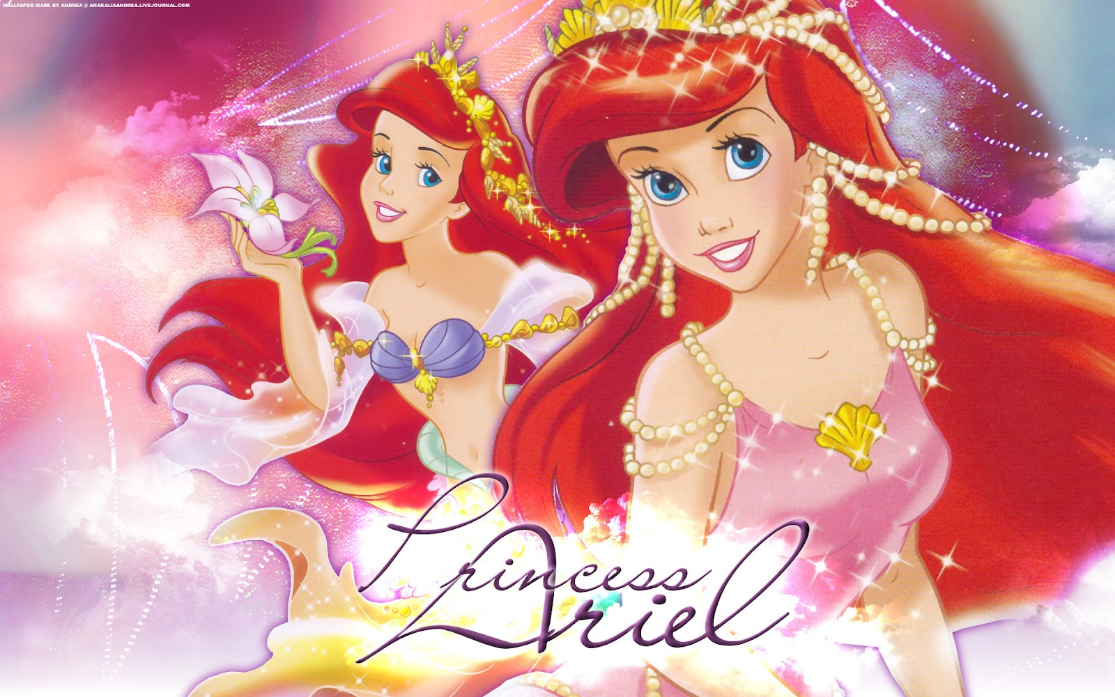 11 Beautifull Litle Mermaid Disney Princess Ariel Characters - photo#38