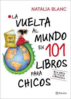 """Portada de """"La vuelta al mundo en 101 libros para chicos"""""""