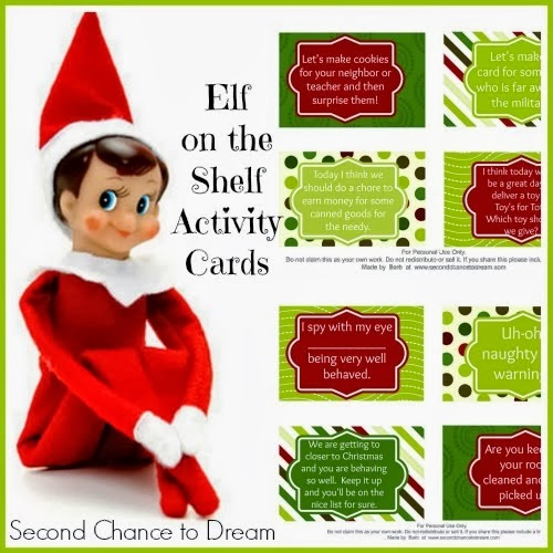 Elf on the Shelf Cards with a Twist {#Printable} - Multi ...