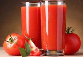 manfaat jus tomat untuk kesehatan dan kecantikan