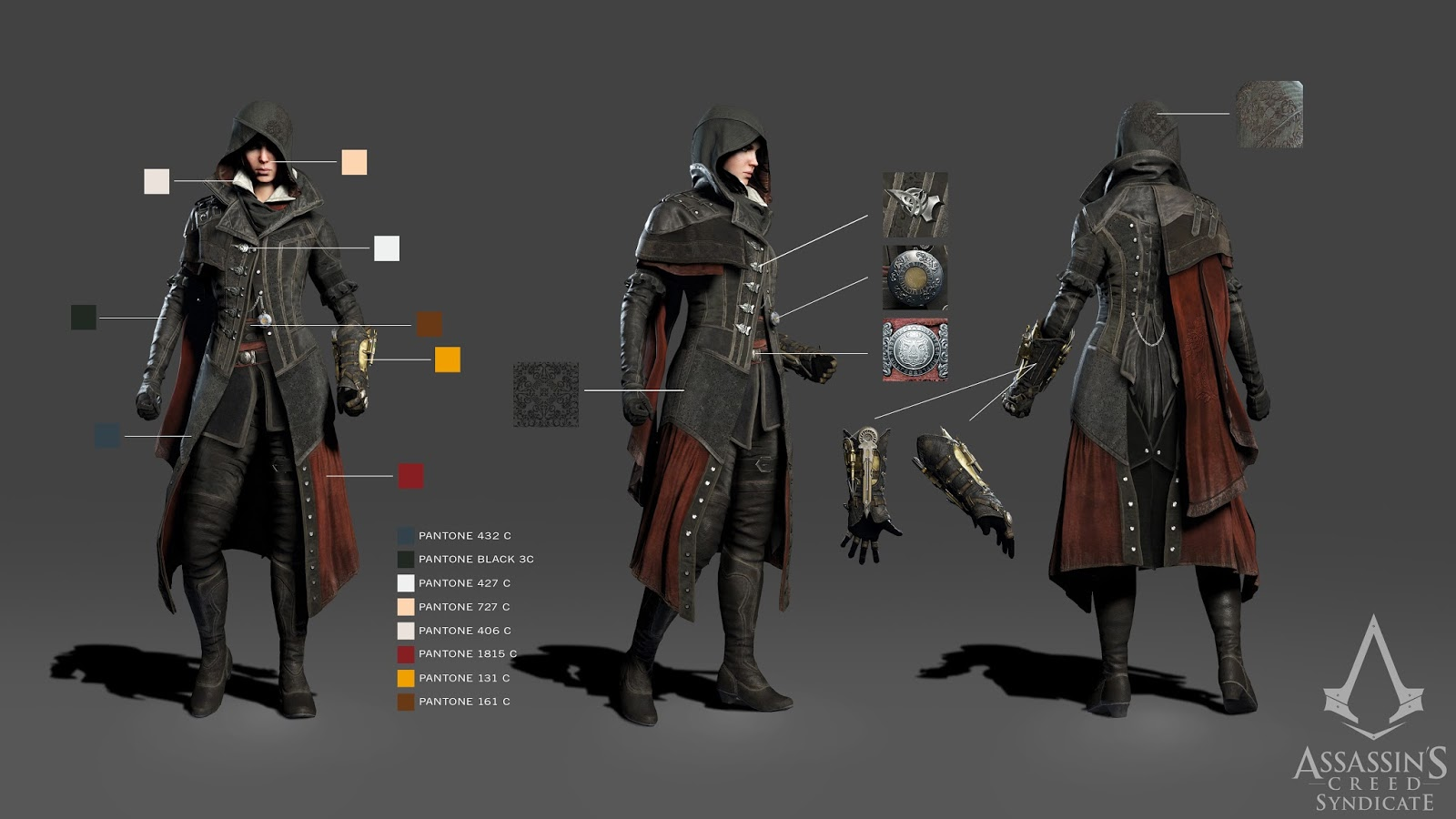 assassins creed syndicate all evies outfits