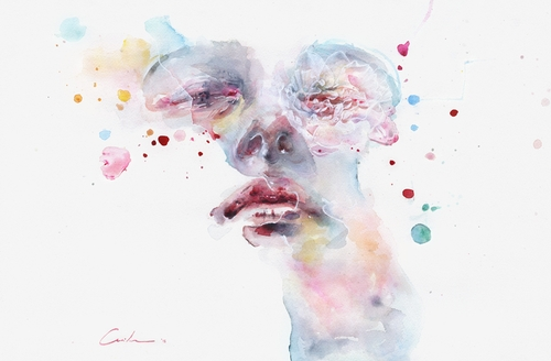 14-Peony-Silvia-Pelissero-agnes-cecile-Watercolor-and-Oil-Paintings-Fading-and-Appearing-www-designstack-co
