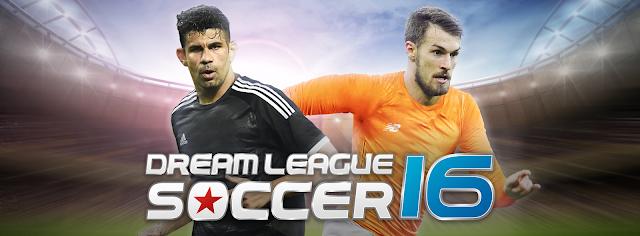 تحميل لعبة حلم الدوري كرة القدم Dream League Soccer 2016 V3.040 مهكرة ( ذهب غير محدود ) اخر اصدار