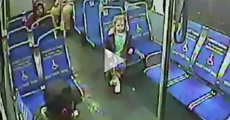 4 year-old girl gets out of the house and rides a bus alone at 3:00 AM