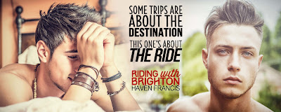 Excerpt + Giveaway for Riding with Brighton by Haven Francis: YA M/M Contemp Romance - The Layaway Dragon