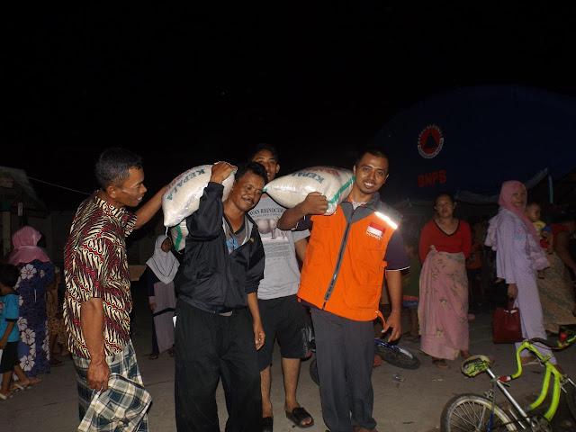 RZ Gelar Aksi Bantuan untuk Korban Bencana Rob Cikesik Pandeglang