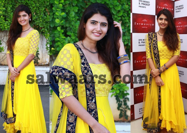 Ashima Narwal in Yellow Churidar
