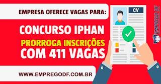 Concurso IPHAN 2018: Inscrição prorrogada!