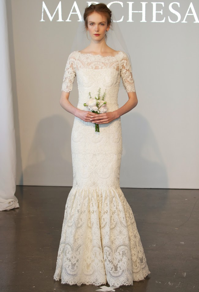 Trend Tuesday: Spring 2015 Wedding Dress Trends   yj life