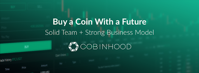 Keuntungan Memiliki Token COB - Cobinhood