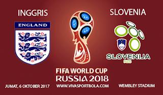 Prediksi Inggris vs Slovenia 6 Oktober 2017