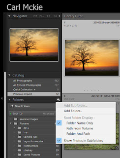 lightroom quick tip,how much space left on drives
