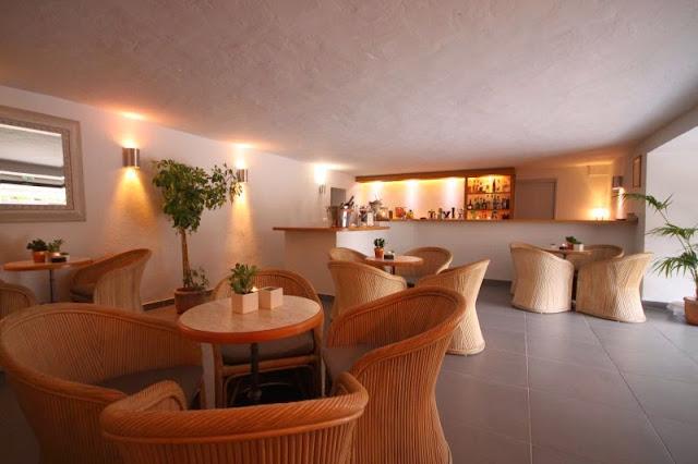 Bar de l'hôtel Eden Park