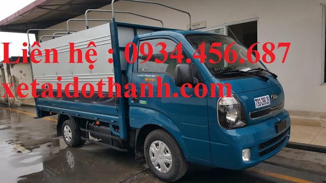 Báo giá lăn bánh xe Kia K200 thùng bạt 1.9 tấn