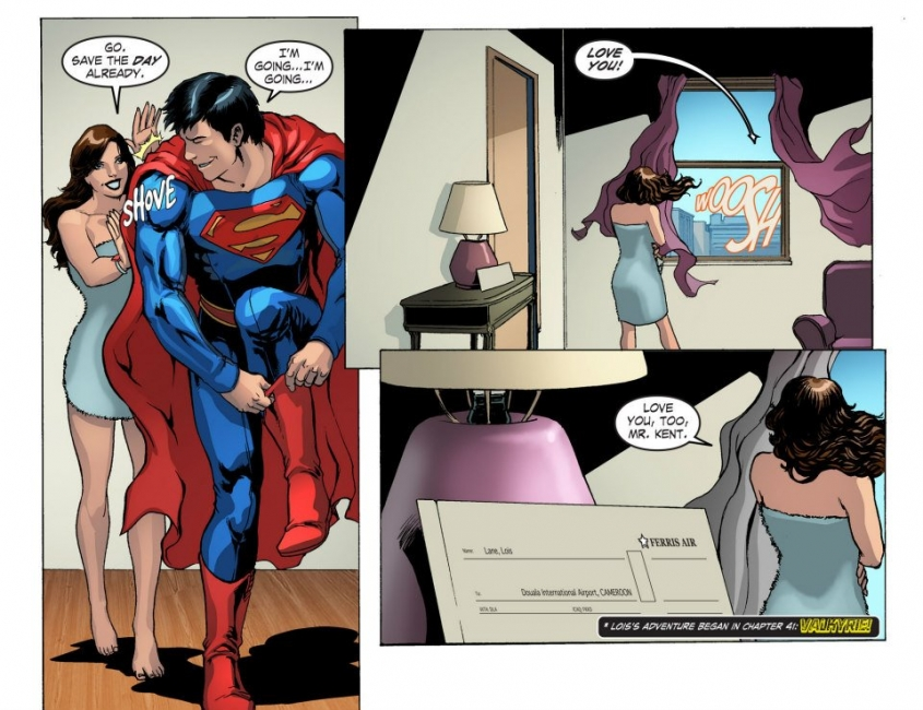 Book Girl: Illustration of the Day: Lois and Clark