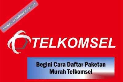 Cara Daftar Paketan Murah Telkomsel